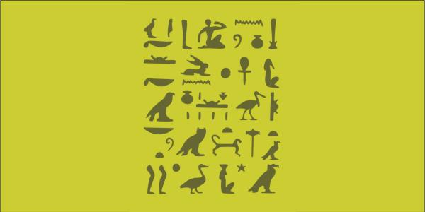 PRV51000 HIEROGLYPHICS LARGE